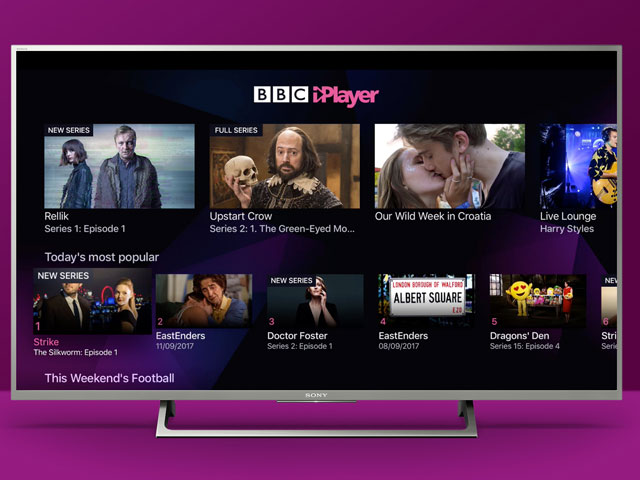 BBC iPlayer ve un inicio récord en 2021