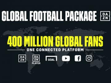DAZN Media lanza paquete global de fútbol
